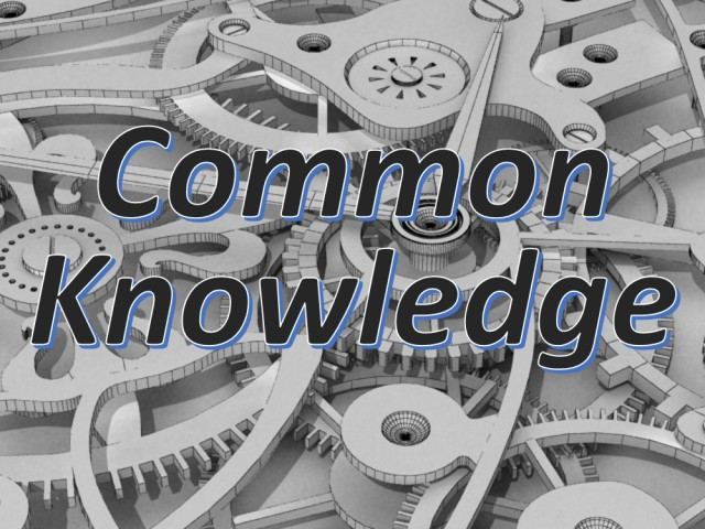 Common Knowledge2